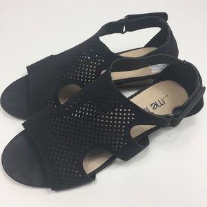 ...Me Too black sandals